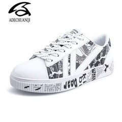 QIUBOSS Vulcanize Fashion Shoes For women 2020
