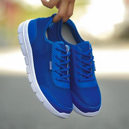Royal Blue Sneakers For