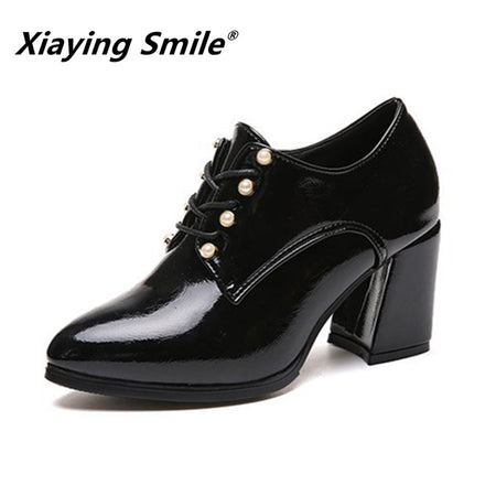 Xiaying Smile Women Heel Pumps