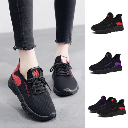 SIKETU 2019 fashion casual Flat with purple women sneakers Purple sport shoes woman walking
