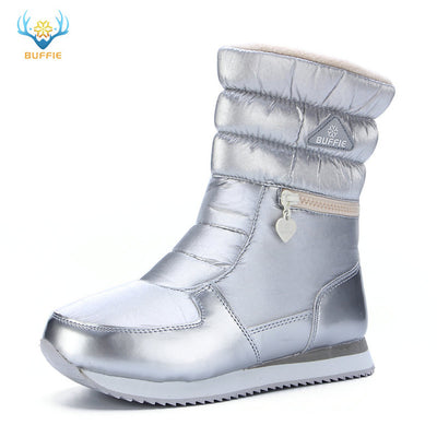 Winter boots women warm shoes snow boot 30% natural wool footwear