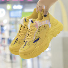 Platform Wedges Casual Sneakers For Woman