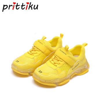 2019 Kids Mesh Luminous Sneakers