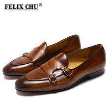 FELIX CHU Genuine Leather Mens