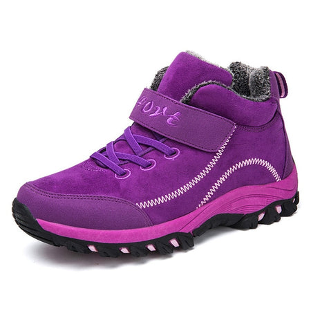 Waterproof Winter Boots with Fur Warm Snow Women Boots