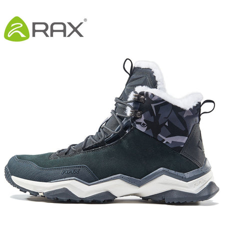 RAX Waterproof Hiking Shoes Men Winter Outdoor Jogging Sneakers for Men