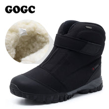GOGC Men Warm Winter Shoes