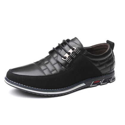 ZUNYU New Summer Autumn Leather Men Shoes Big Size 38-48