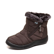 Women Boots Waterproof Snow Boots Female Plush Winter Boots