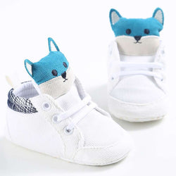Baby Autumn Cheap Shoes Kid Boy Girl Fox Head Lace