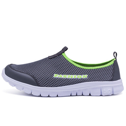 Ultralight Men Sneakers Summer Breathable Mesh Cheap Running Shoes