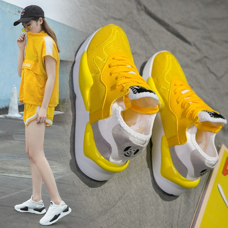 Woman Sneakers Platform Trainers