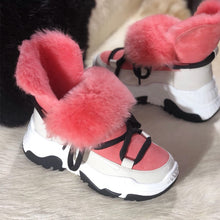 Snow warm wool Women's sneakers