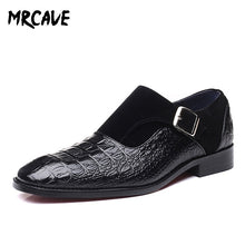 MRCAVE Luxury Brand PU Leather Dress Loafers