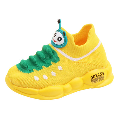 Caterpillar Mesh Kids Casual Shoes For Girl Boy Children Kid Running Sneakers