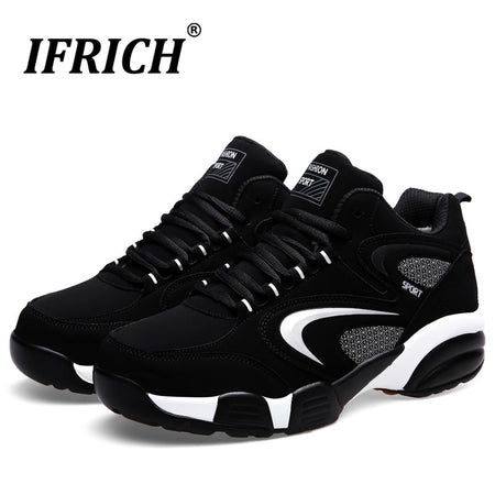 Autumn Winter Men Women Sneakers With Fur Winter Warm Large Size Running Shoes