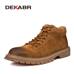DEKABR New Men Leather Boots