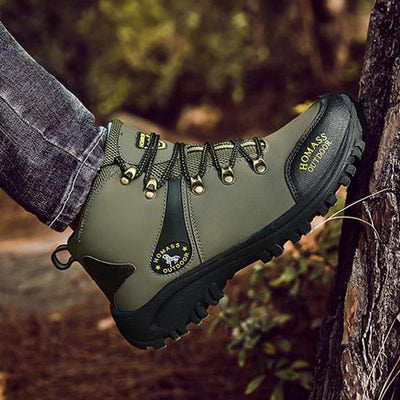 Mens Shoes Hiking Platform Sneakers Boots