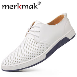 Merkmak Brand New Summer Breathable Men Shoes