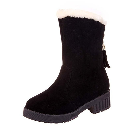 women warm winter snow boots