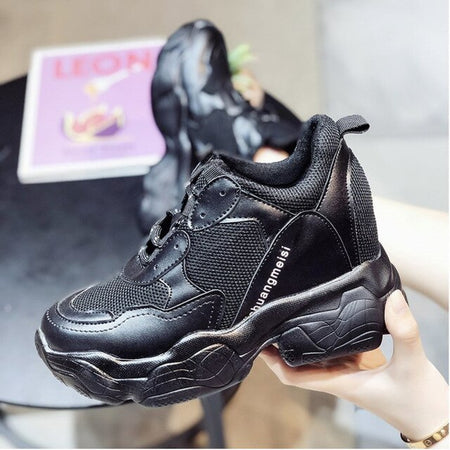 Women Chunky Sneakers Platform Shoes