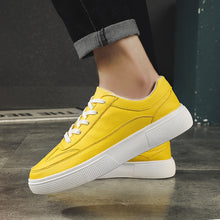 YELLOW SNEAKERS FOR MEN