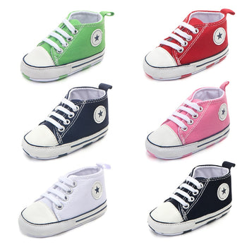 Canvas Classic Sports Sneakers Newborn Baby Boys Girls