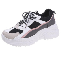 PU Running Shoes for Sneakers Women