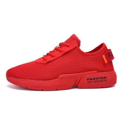Lycra Sneakers Man Popcorn Sole Zapatillas Hombre Light Jogging Shoes