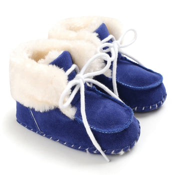 Faux fur Baby Shoes Girls Boys Warm Anti-Slip Casual Warm Sneakers