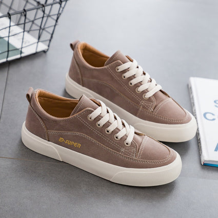 Woman Shoes New Fashion Casual Suede Leather Shoes Women