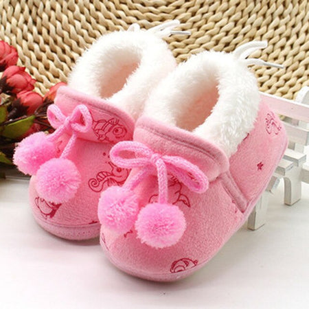 Fashion Newborn Sneakers Baby Boys Girls Soft Warm Shoes