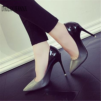 Women's shoes New pumps nightclubs gradually change color
