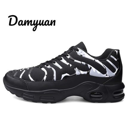 Damyuan Men's Casual Sneakers Non-Leather Casual Shoes Men