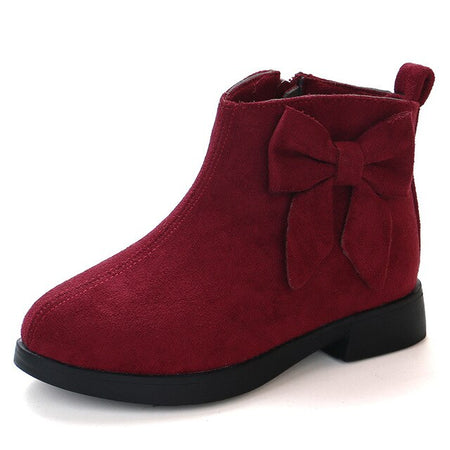 Fashion Winter Kids Boots Thick Warm Shoes Boys Girls