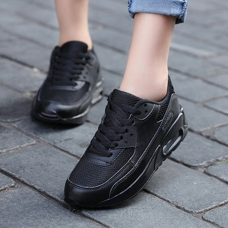 Fashion Casual Shoes for Men Air Cushion Lace-up Sneakers