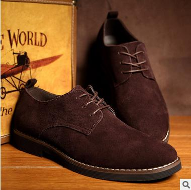 IMAXANNA Men Casual Shoes Men Genuine Leather Shoes