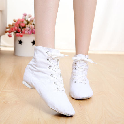 Cheap New Men Women Sports Dancing Sneakers Lace Up Shoes