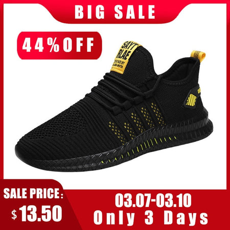 Mesh Men Sneakers Breathable Men Casual Shoes