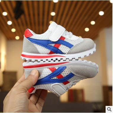 New children sports shoes for boys girls baby toddler kids flats sneakers