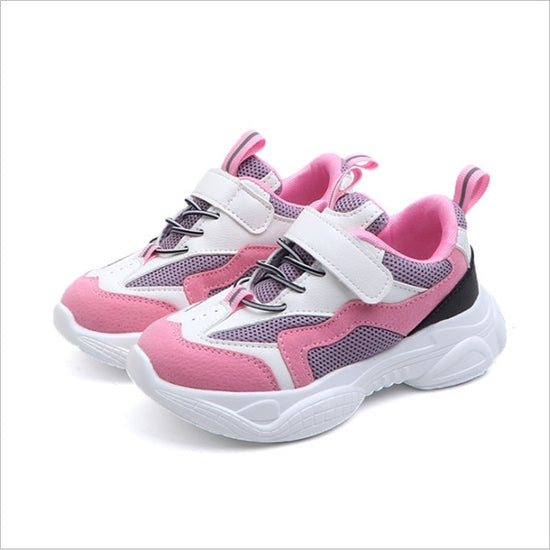 New Spring Kids Shoes Mesh Color Matching Children's Sneakers