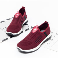Women Shoes Summer Breathable Mesh Slip-On Sneakers