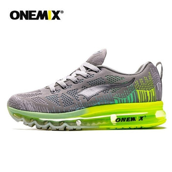 ONEMIX Men's Sport Running Shoes Music Rhythm Men's Sneakers