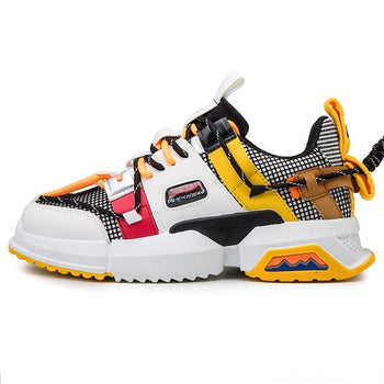 Retro Basketball Shoes for Men Air Shock Outdoor Trainers