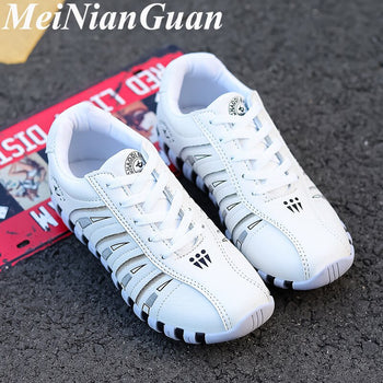 Women's Shoes Synthetic Sneakers Women White Sport Shoes