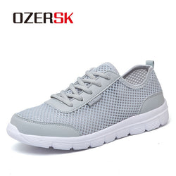 OZERSK New Arrival Summer Casual Shoes For Men Sneakers Plus Size 39-48