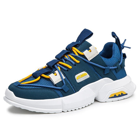 Fashion Sneakers Men High Quality Lace-up Air Mesh Shoes