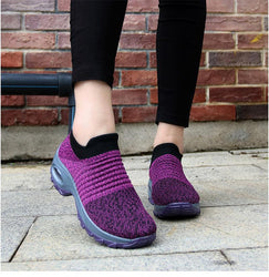 Purple sneakers for women