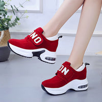 Women Sneakers Fashion Outdoor Breathable Lace up Vulcanize Shoes