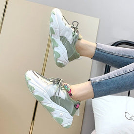 Autumn Chunky Sneakers Women Platform Casual Shoes